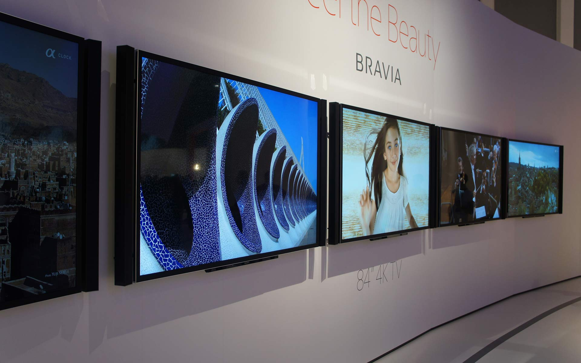 """Sony 4K TVs 84"""""""