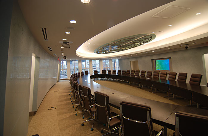 Very Large Conference Room Lighting