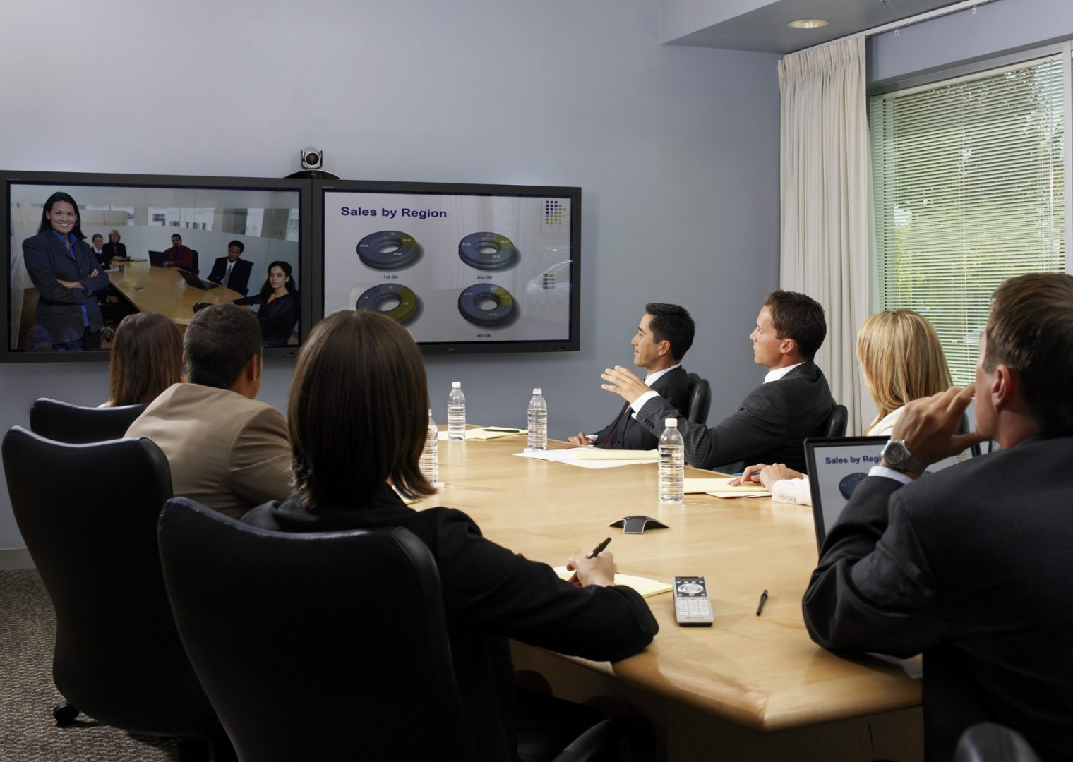 Dual Screen Video Conferencing Configuration