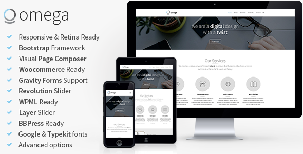 Web Development Popular Template Omega