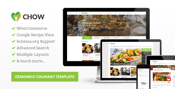 Web Development Popular Template Chow