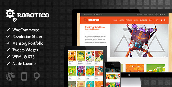 Web Development Popular Template Robotico