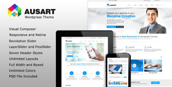 Web Development Popular Template Ausart