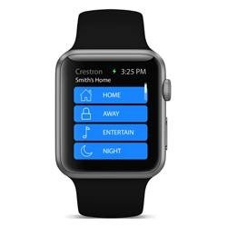 The Crestron app comes to Apple Watch™