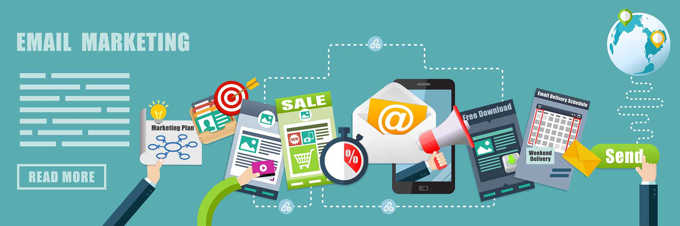 Email Marketing at Smart Offices in Lansing, MI
