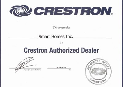 Smart-Homes-Crestron-Authorized-Dealer