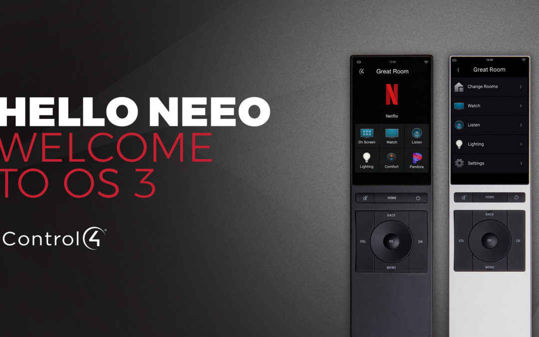 Neeo Remote for Control4 for Smart Home and Entertainment Devices